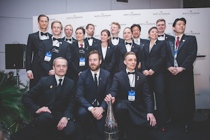 The 2016 Best Sommelier of the World's 15 semifinalists.